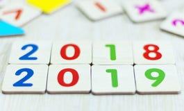 Konzept 2019: Neues Jahr-neues Hoffnungs-Konzept stockbilder