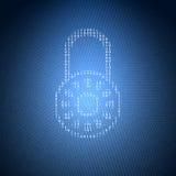 Konzept-Sicherheits-Illustration Lizenzfreies Stockfoto