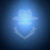 Konzept-Sicherheits-Illustration Stockbild