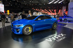 Konzept Subarus WRX Lizenzfreie Stockfotografie