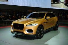 Konzept SUV Jaguars C-X17 Stockbilder