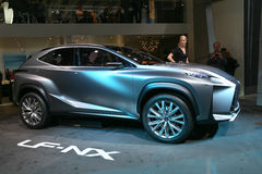 Konzept SUVs Lexus LF-NX Lizenzfreies Stockbild