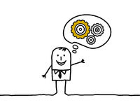 Konzept und Ideen Stockbild