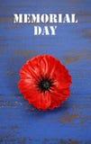 Konzept USA Memorial Day stockbild