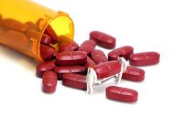 Konzept: Verschreibungspflichtige Medikamente Lizenzfreie Stockbilder
