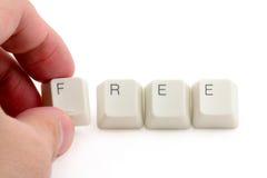 Konzept von freiem Lizenzfreies Stockfoto