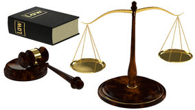 Konzept von Gerechtigkeit Stockbilder