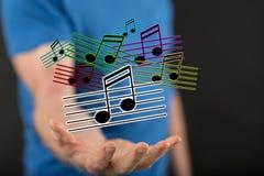 Konzept von Musik Stockfoto