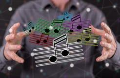 Konzept von Musik Stockbilder
