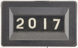 Konzept von 2017, neues Jahr Lizenzfreie Stockfotografie
