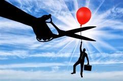 Konzept von Risiken im Geschäft Lizenzfreie Stockbilder