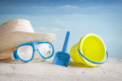 Konzept von Sommerferien Lizenzfreies Stockbild