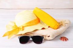 Konzept von Sommerferien Lizenzfreie Stockfotos