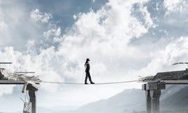 Konzept von versteckten Risiken und von Gefahren Stockfotos