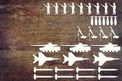 Konzept von Waffen Stockbild