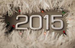 Konzept-Zahl von Jahr 2015 Lizenzfreies Stockbild