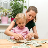 Konzept: zu Geld während der Zukunft sparen Lizenzfreie Stockfotos