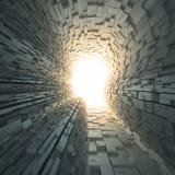 Konzeptabbildung der künstlichen Intelligenz stock abbildung