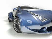 Konzeptauto stock abbildung