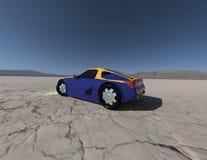 Konzeptauto, das 5 überträgt Lizenzfreie Stockfotografie