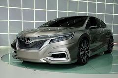 Konzeptauto Honda-Konzeptes C Stockfoto