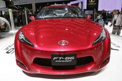 Konzeptauto Toyota-FT 86 Stockfotografie