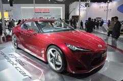 Konzeptauto Toyota-FT-86 Stockbild