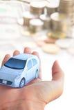 Konzeptbild Ihres Autos Stockbild