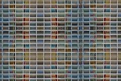 Konzeptbild: leere Wohnungsblöcke Stockbilder