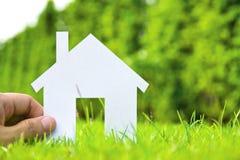 Konzeptbild von bilden Ihr Haus Stockfotografie