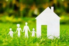 Konzeptbild von machen Ihr ein Haus Lizenzfreie Stockbilder