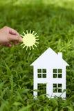 Konzeptbild von machen Ihr ein Haus Lizenzfreies Stockfoto