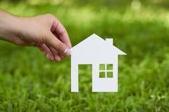 Konzeptbild von machen Ihr ein Haus Lizenzfreies Stockbild