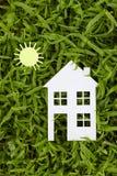 Konzeptbild von machen Ihr ein Haus Stockfotografie