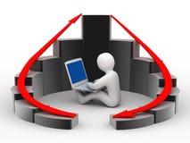 Konzeptentwicklungsgeschäft Lizenzfreie Stockfotos