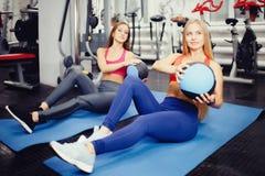 Konzeptgruppen-Trainingsteam für Gewichtsverlust lizenzfreies stockbild