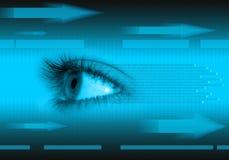 Konzepthintergrund der neuen Technologie Stockbilder