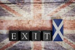 Konzeptreferendum Schottland Lizenzfreie Stockfotografie