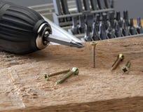 Konzeptwerkzeuge und Reparaturarbeit stockbilder