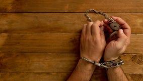 Konzeptzeit zugeschlossen in Gefängnis für das Dienen eines Verbrechens stockbilder