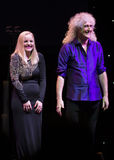 Konzert Brian May u. Kelly Wellis The Voice Stockfotografie