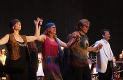 Konzert in Cesky Krumlov Lizenzfreies Stockfoto