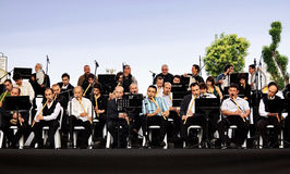 Konzert der geöffneten Luft in Istanbul Lizenzfreie Stockfotografie