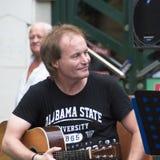 Konzert der schäbigen Blau-Band auf Keszthely-Straßenfest Stockbild
