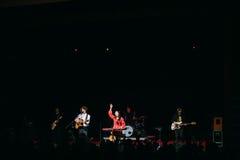 Konzert des belarussischen indie Popduos NAVI nannte auch Naviba Lizenzfreies Stockfoto