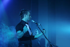 Konzert des christlichen musikalischen Bandes Stockfoto