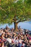 Konzert im Park Stockbilder