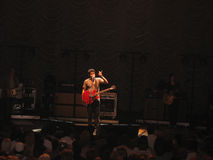 Konzert John-Mayer lizenzfreie stockfotografie