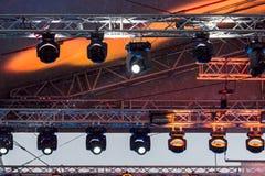Konzert-Licht-Show Lizenzfreie Stockfotografie