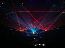 Konzert, Lichtanzeige Lizenzfreie Stockbilder